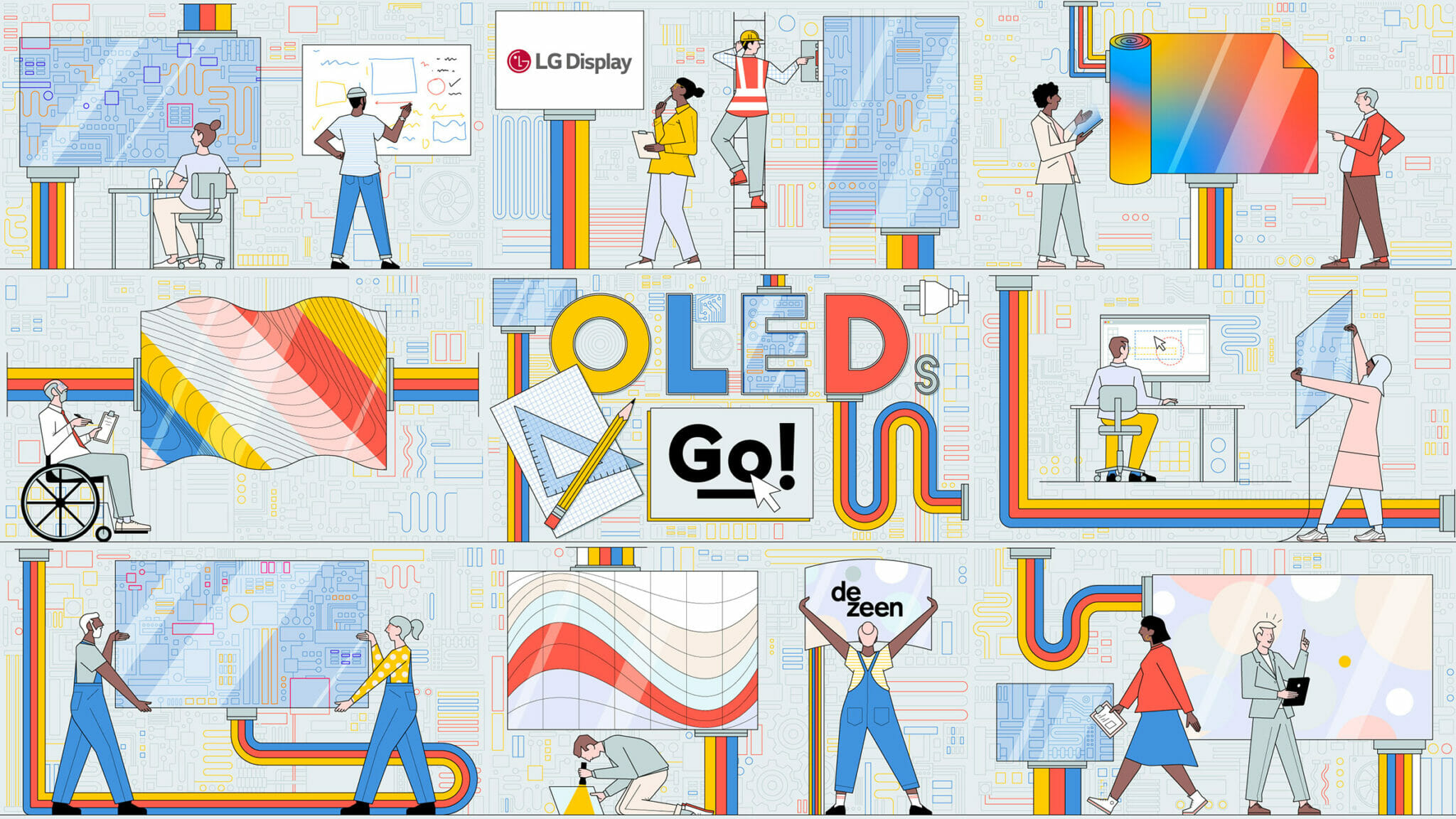 LG Display And Dezeen's Oleds Go Competition