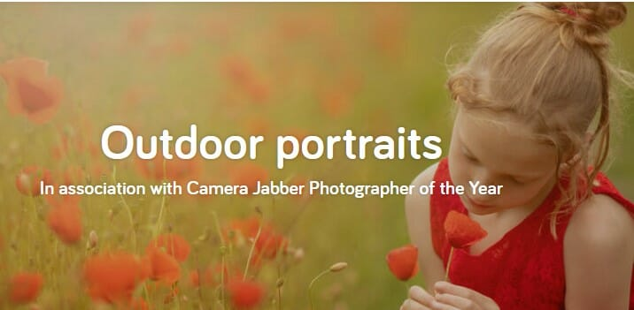 Outdoor portraits online photography contest In association with Camera Jabber Photographer of the Year 2021