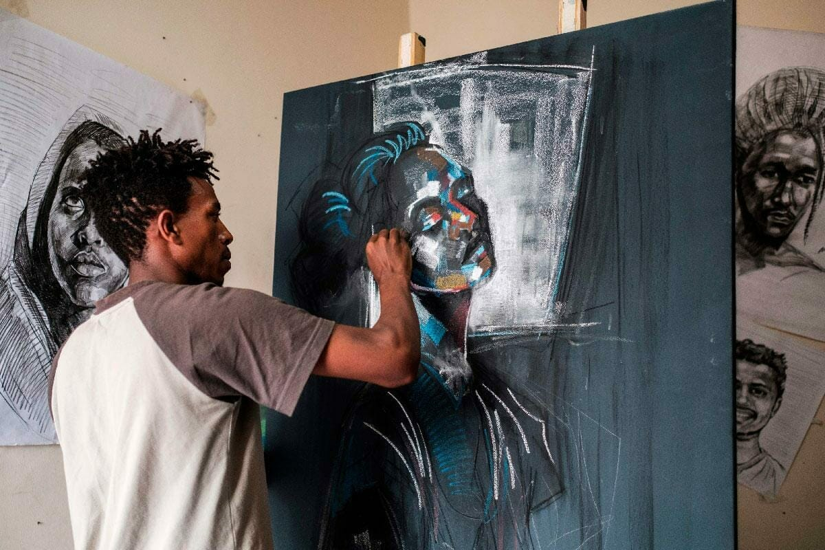 The fully funded 5th New Dimensions Lab for African artists by Electric South in south Africa 2021